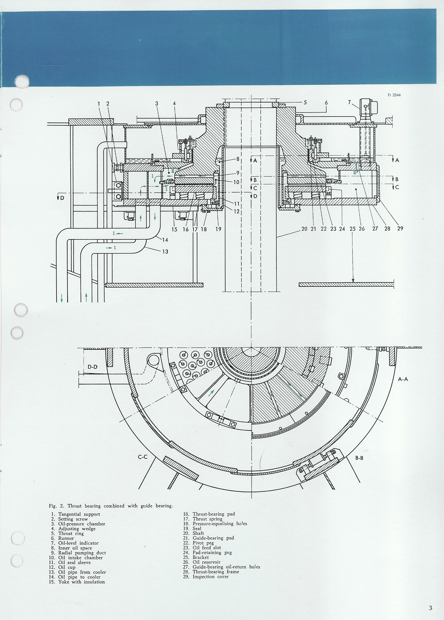Asea Bearings For Large Vertical Hydro Electric Machines Power Plant Circuit Diagram Web Page